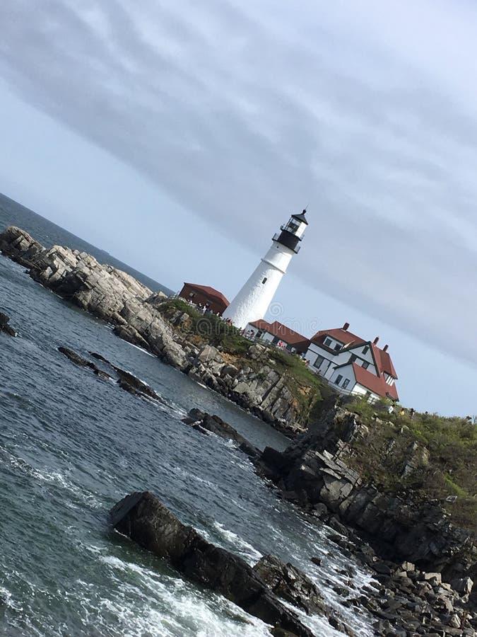 Maine Lighthouse imagem de stock