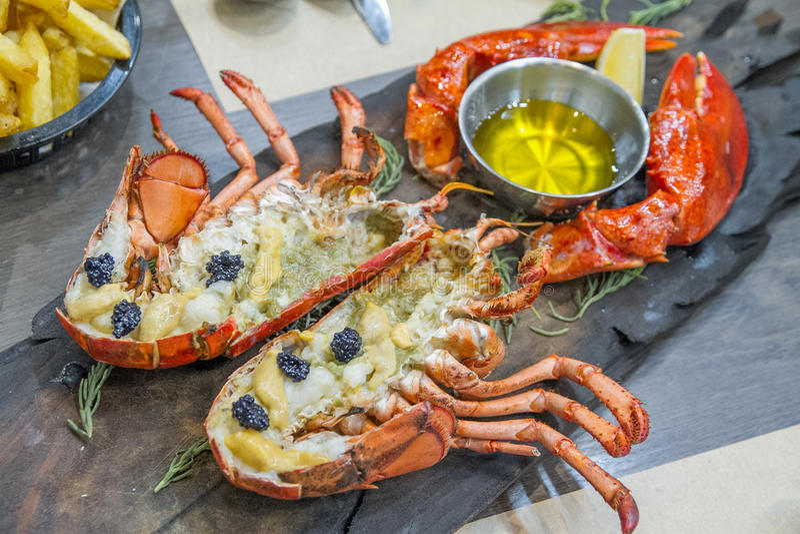 Maine Lobster Top Class fotos de archivo libres de regalías