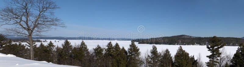 Maine panorâmico imagens de stock royalty free