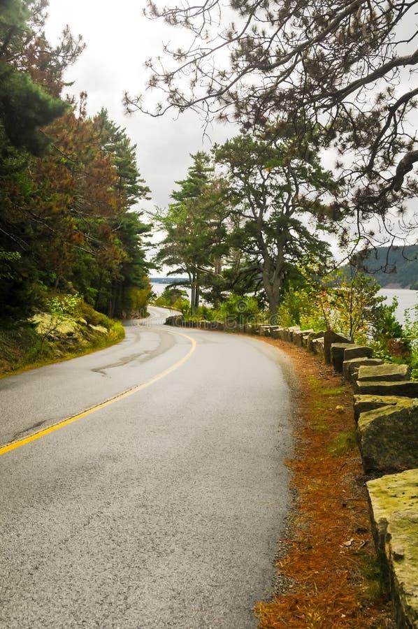 Maine Road stockfotos