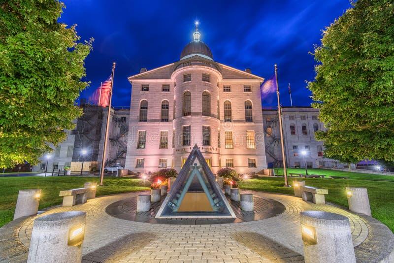 Maine State House fotografia stock