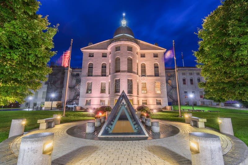 Maine State House fotografia stock libera da diritti