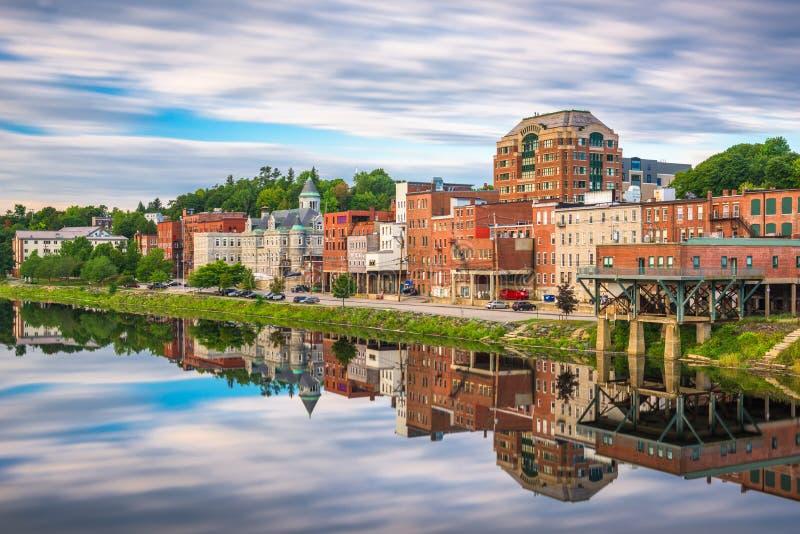 Maine State House a Augusta, Maine, U.S.A. immagini stock libere da diritti