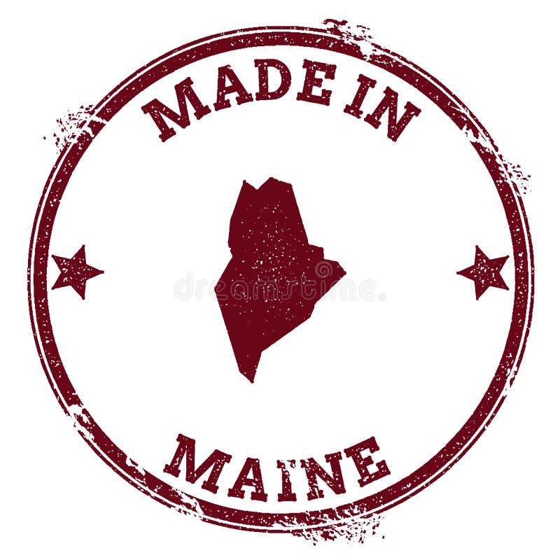 Maine wektorowa foka ilustracji