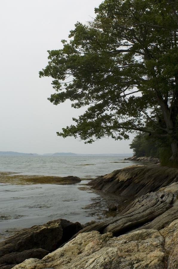 - Maine, wybrzeże jest obraz stock