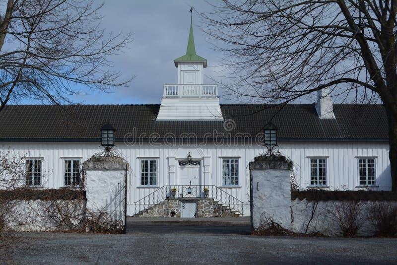 Mainhouse at Hovinshom royalty free stock photography