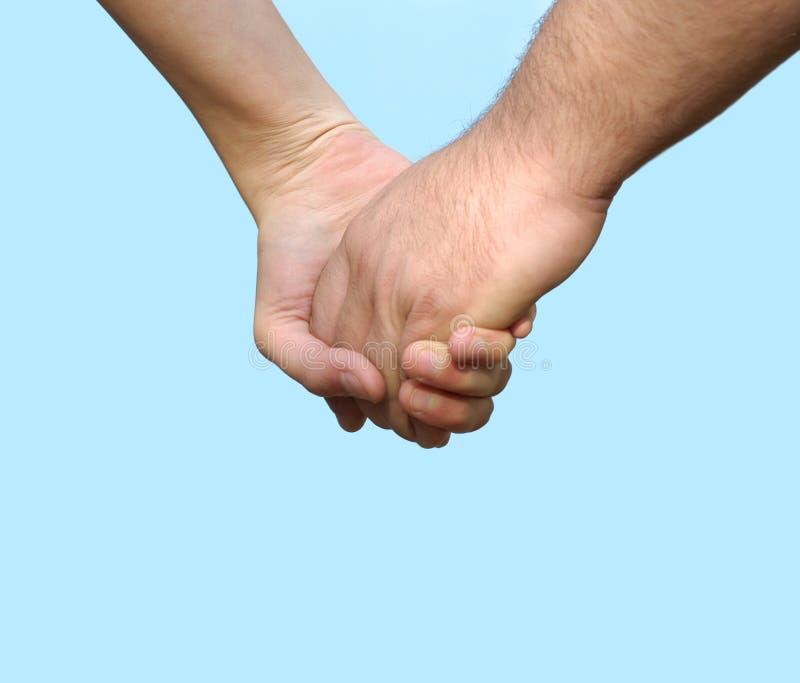 Mains : couples photo libre de droits