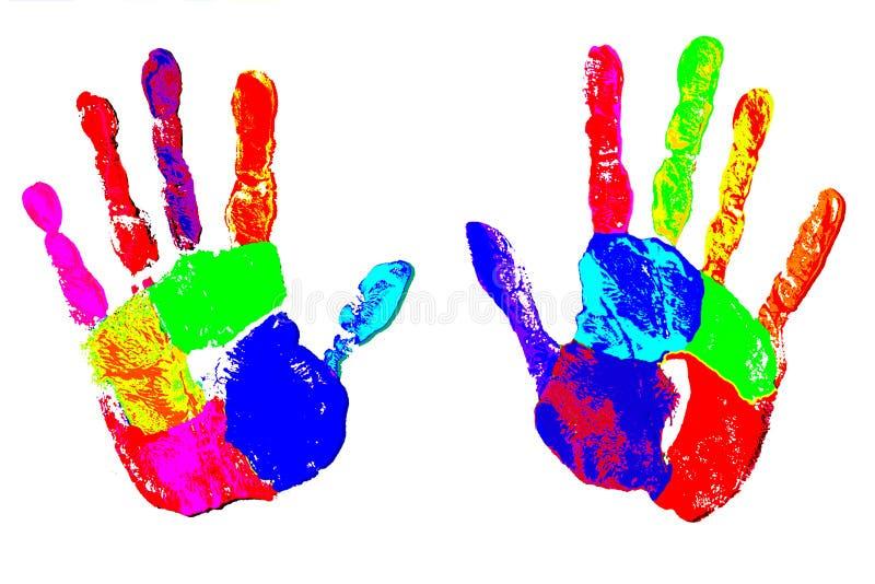 Mains créatrices illustration libre de droits