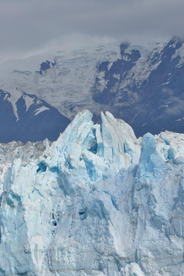 Mains de prière de glacier de Hubbard photo stock