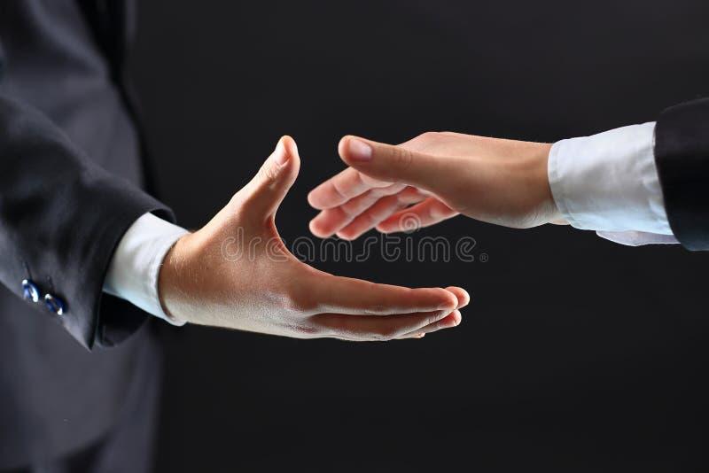 Mains des associés photo stock