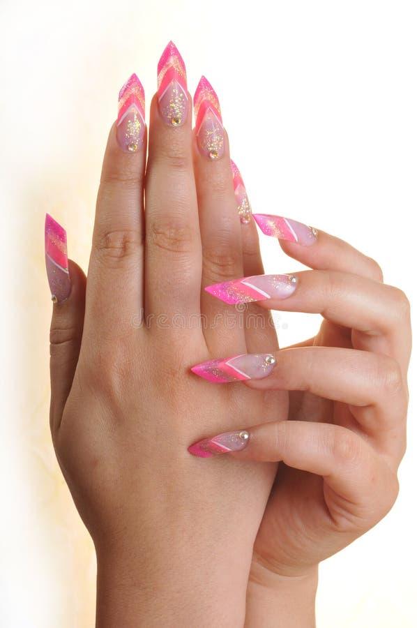 Mains en couleurs photos libres de droits