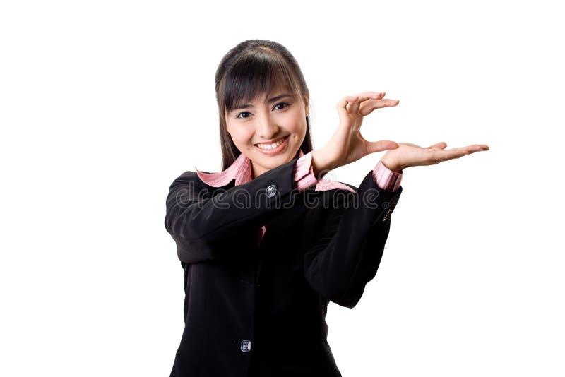 mains exécutives présentant le sourire image libre de droits