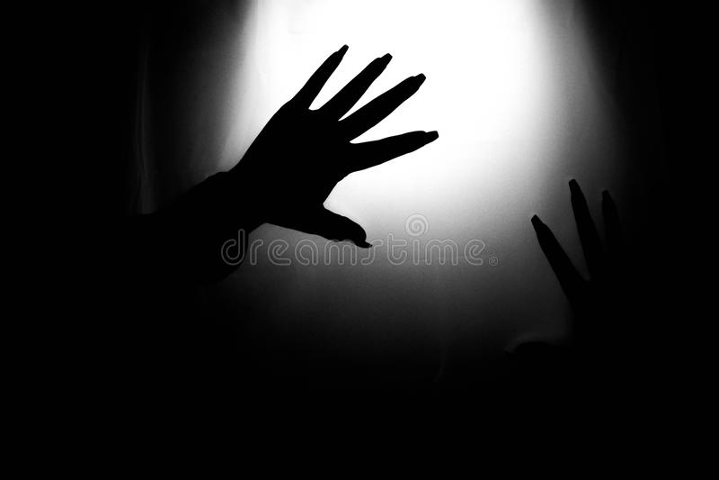 Mains fantasmagoriques photo stock