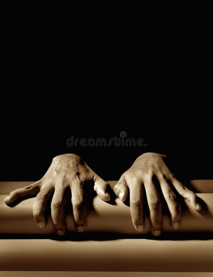 Mains humaines image libre de droits