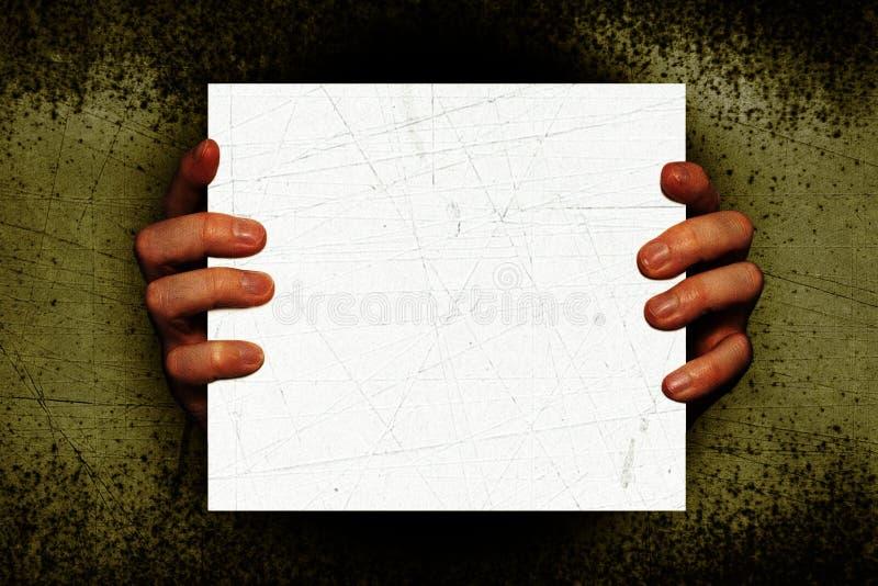 Mains rampantes images libres de droits