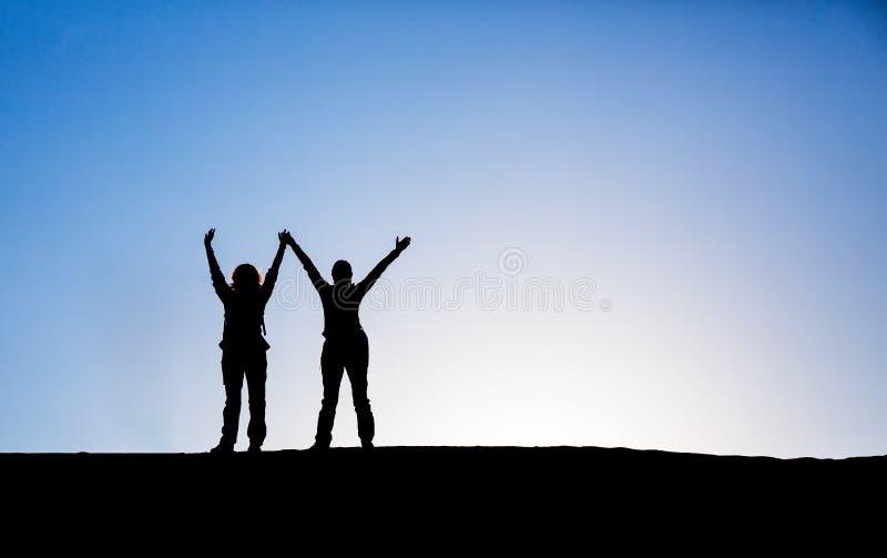 Mains vers le haut photo libre de droits