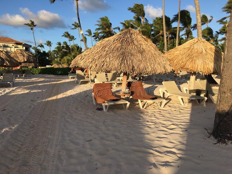 Maintenant station de vacances de Larimar dans Punta Cana dominicain À la plage photos stock