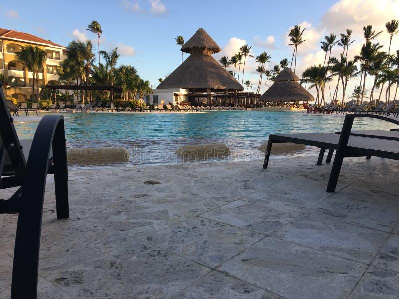Maintenant station de vacances de Larimar dans Punta Cana dominicain image libre de droits