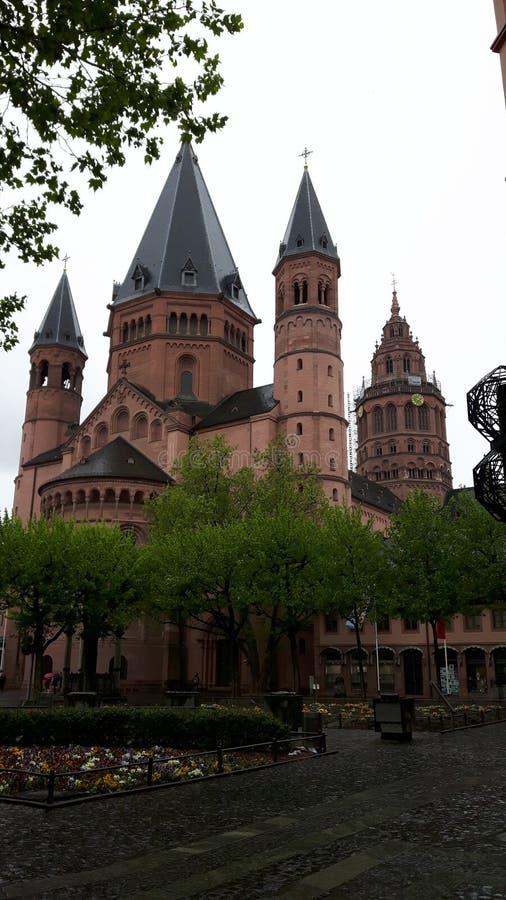 Mainz domkyrka arkivbild