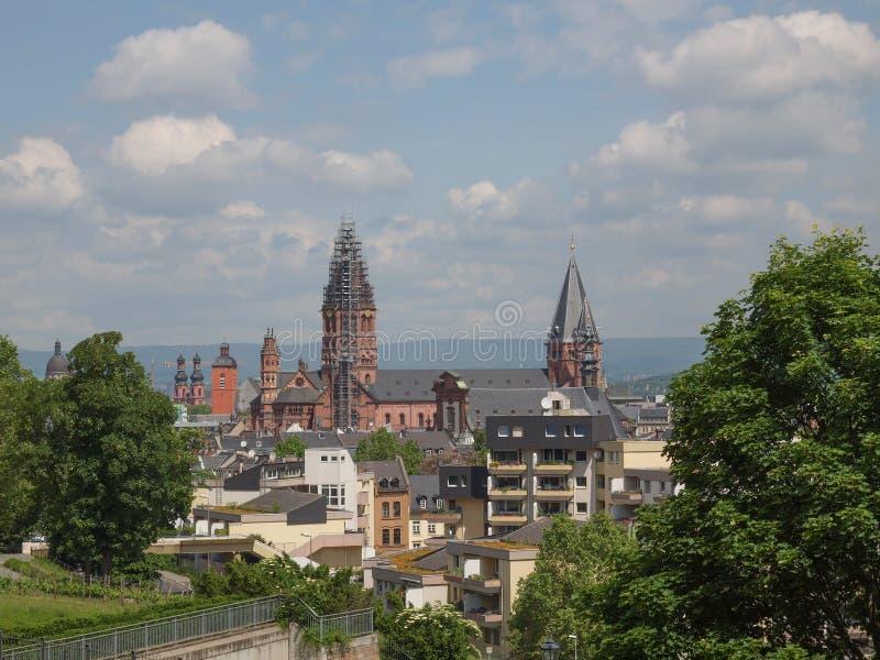 Mainz Duitsland royalty-vrije stock afbeeldingen