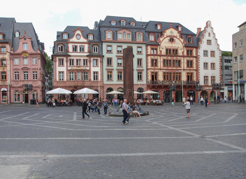 Mainz, Duitsland royalty-vrije stock afbeeldingen