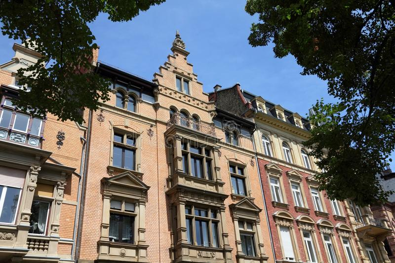 Mainz architecture, Germany stock image