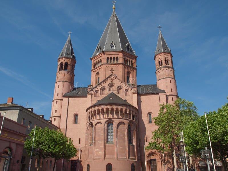 Mainz katedra zdjęcia stock