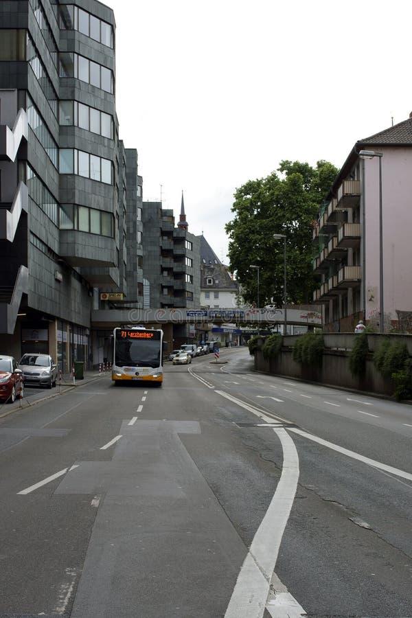 Mainz transport royaltyfri foto