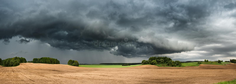 maio Thunderstrorm foto de stock royalty free
