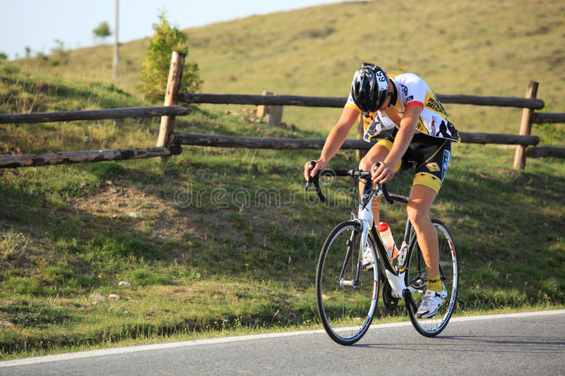 Mair Filip cyclist from Germany royalty free stock photo