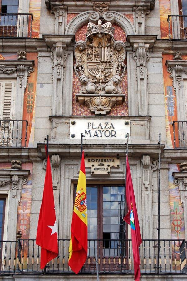 Maire de plaza images libres de droits