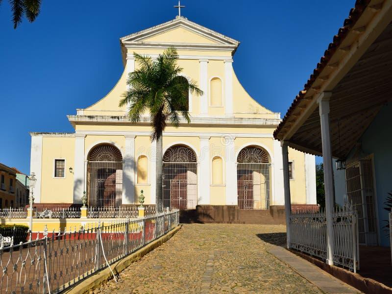 Maire de plaza au Trinidad sur le Cuba photographie stock