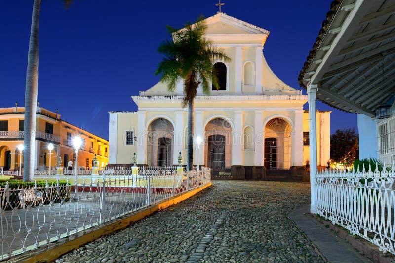 Maire de plaza au Trinidad sur le Cuba photo libre de droits