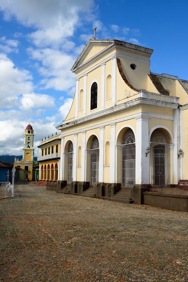 Maire de plaza au Trinidad sur le Cuba photos stock