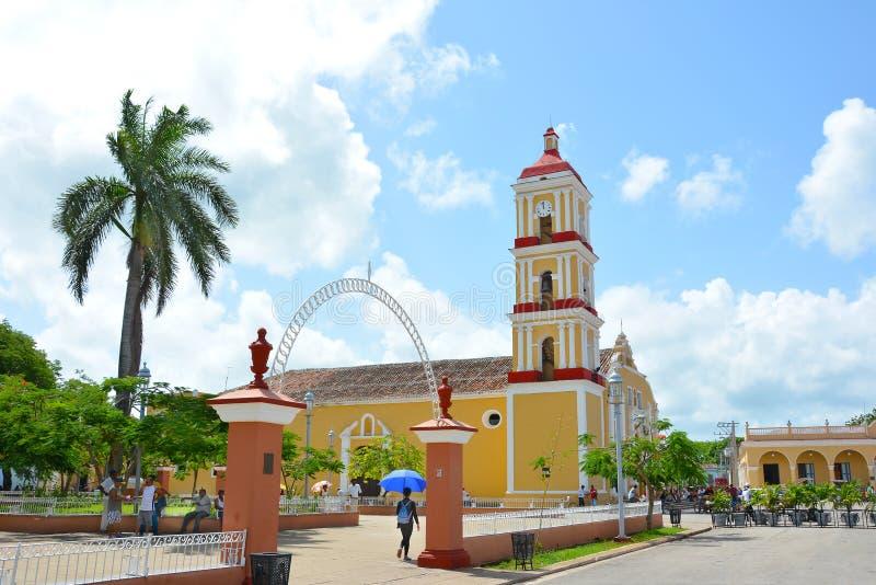 Maire Parochial Church de Remedios images stock