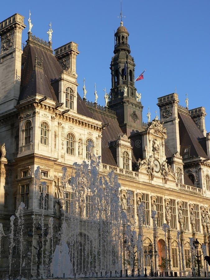 Mairie de巴黎 免版税库存图片