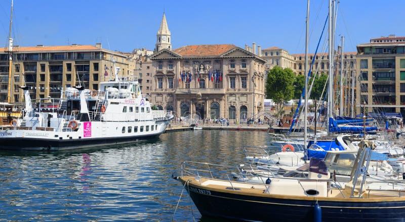 Mairie de Marseille zdjęcia stock