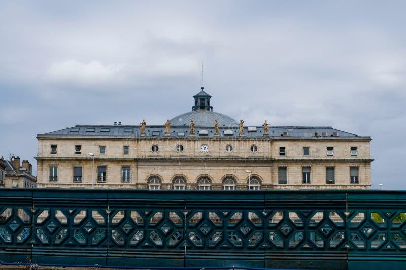 Mairie e teatro de Bayonne. France imagem de stock