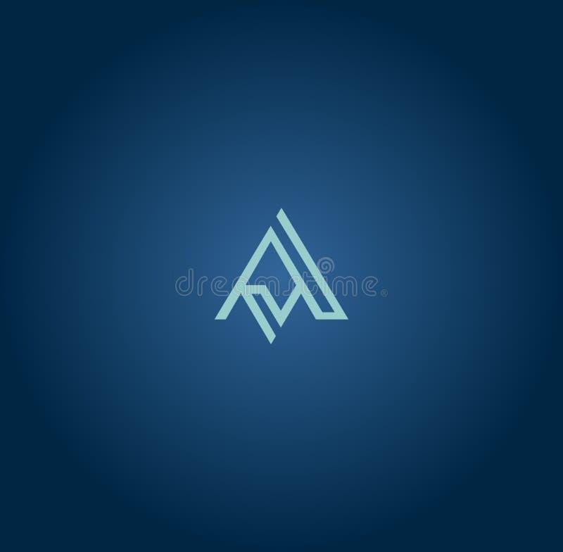 Mais atrasado impressionante um projeto do logotipo ilustração do vetor