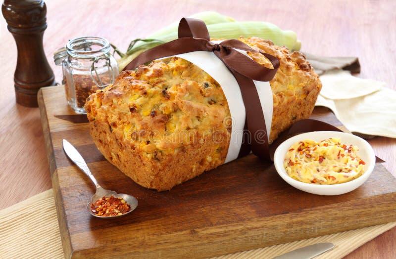 Mais-Brot stockfotografie