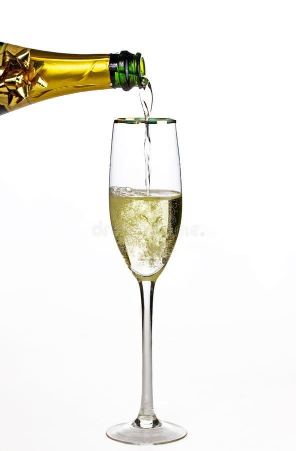Mais champanhe fotografia de stock royalty free