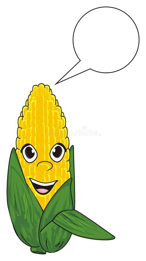 Download Mais mit sauberem Zeichen stock abbildung. Illustration von zeichen - 90225726
