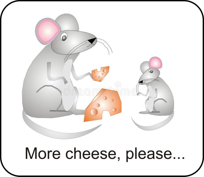 Mais queijo. Por favor