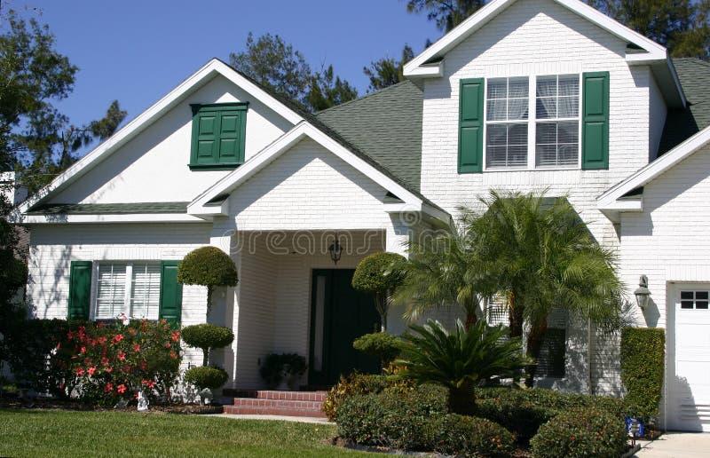 Maison à Pignon Dans Les Tropiques Image libre de droits
