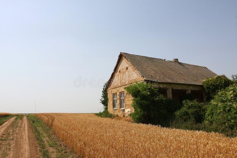 Maison abandonnée de ferme photos libres de droits