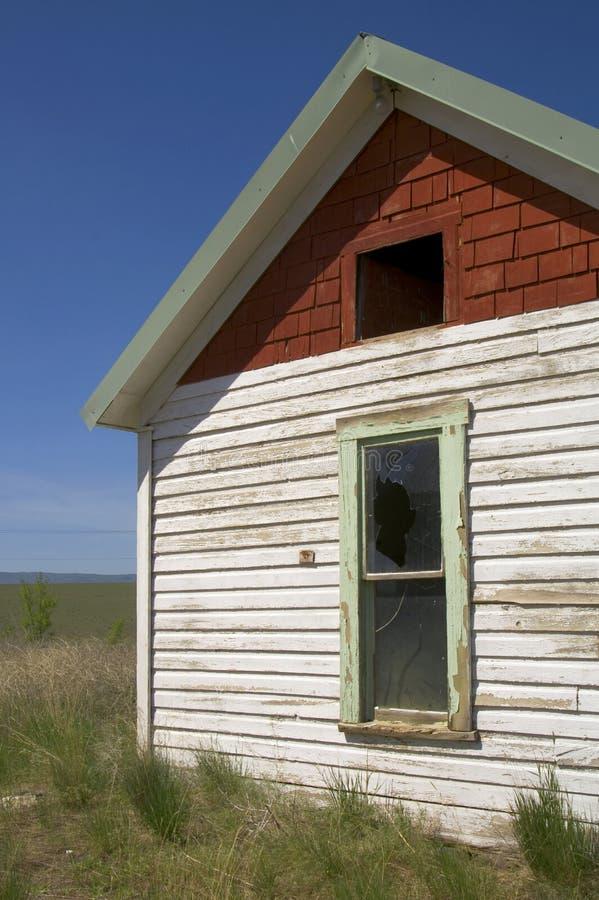 Maison abandonnée par diminution des effectifs photo libre de droits