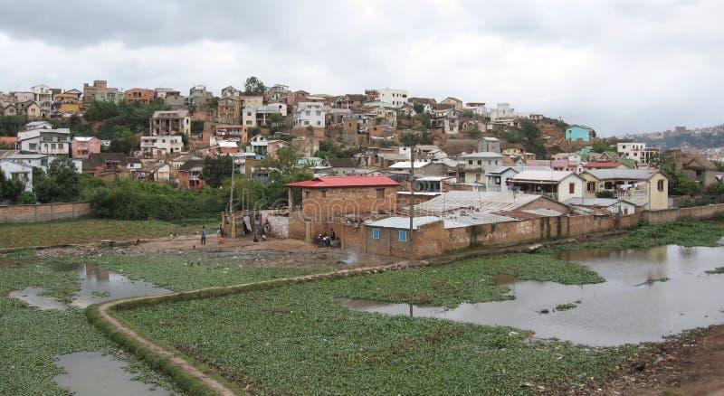 Maison africaine photographie stock libre de droits