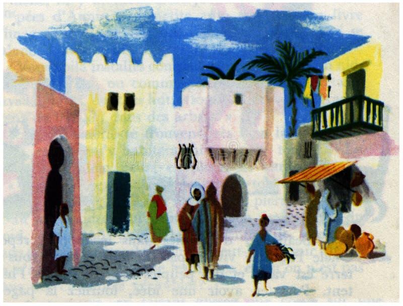 maison Afrique du nord photo libre de droits