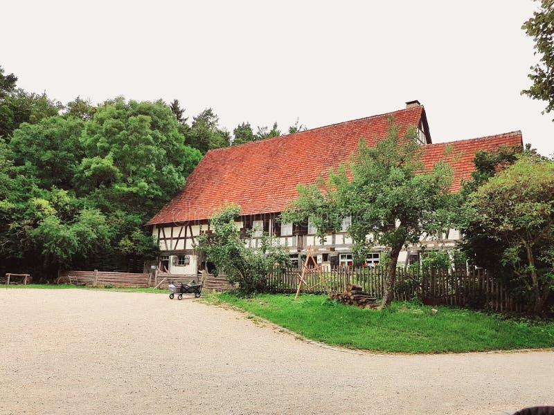 Maison allemande de pays photo stock