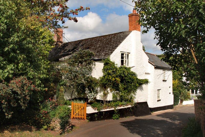 Maison anglaise de village image libre de droits